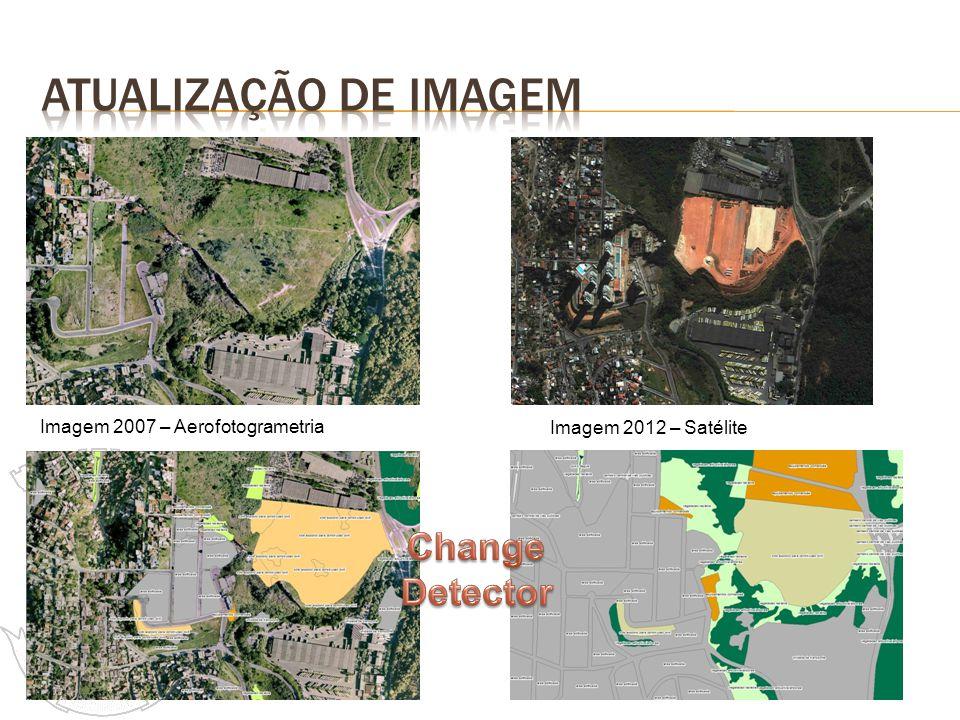 Atualização de imagem Change Detector Imagem 2007 – Aerofotogrametria