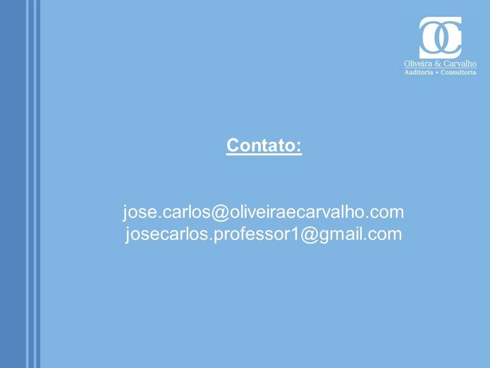 Contato: jose. carlos@oliveiraecarvalho. com josecarlos