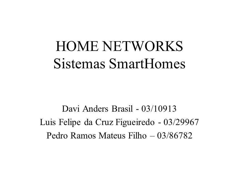 HOME NETWORKS Sistemas SmartHomes