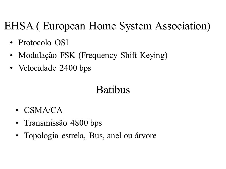 EHSA ( European Home System Association)