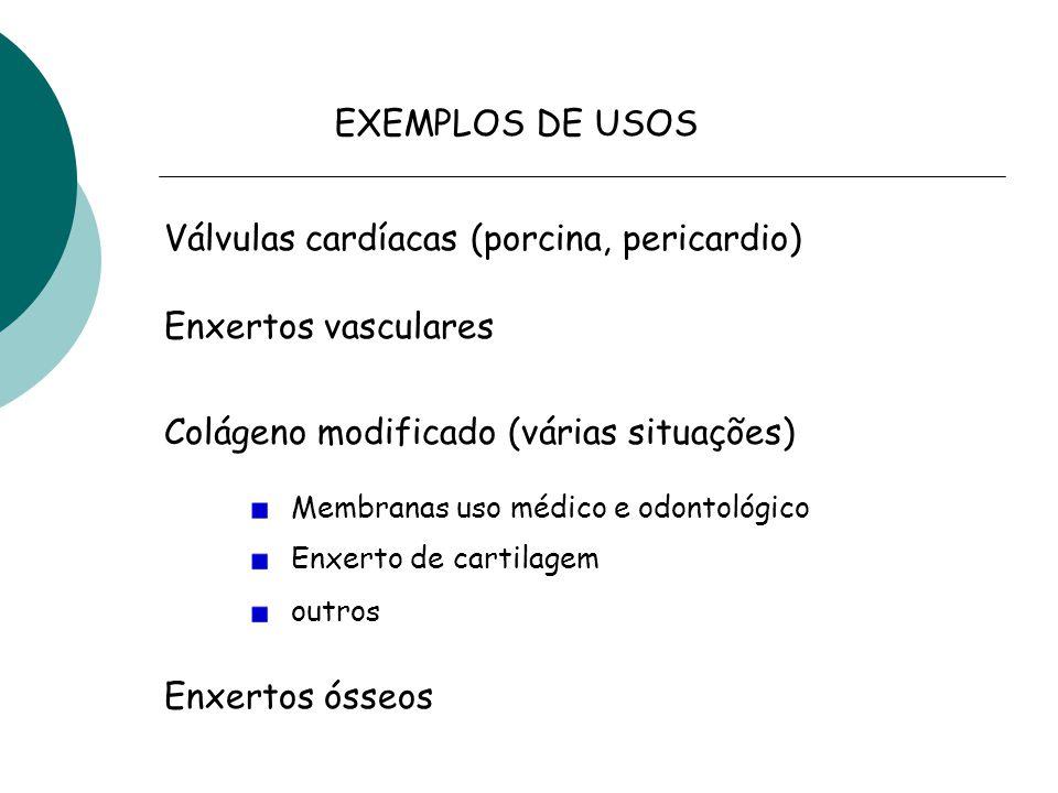 Válvulas cardíacas (porcina, pericardio)