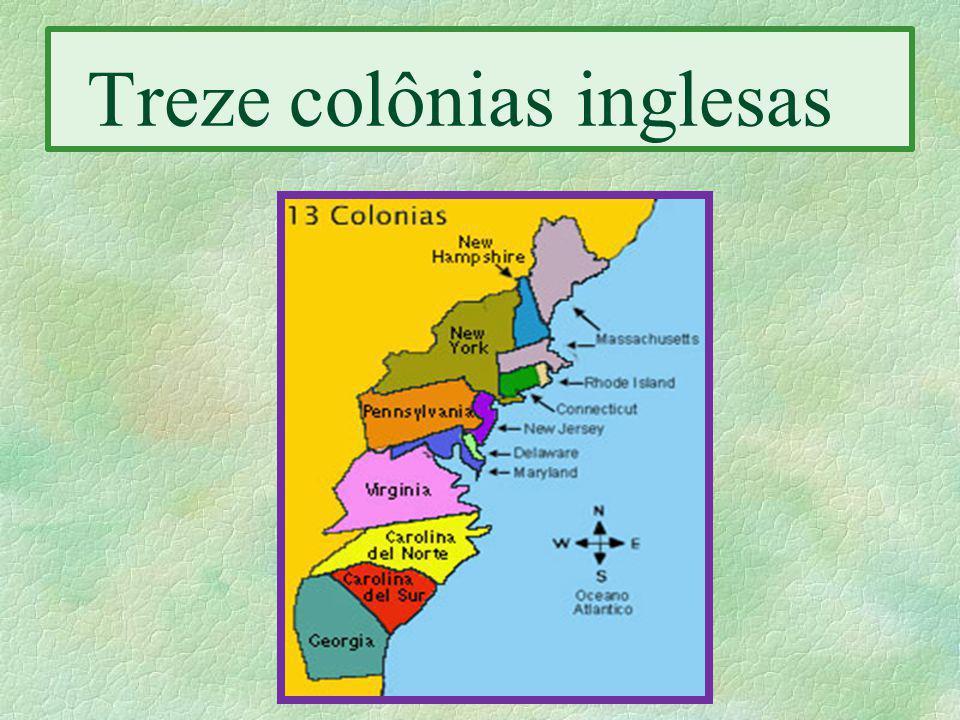 Treze colônias inglesas