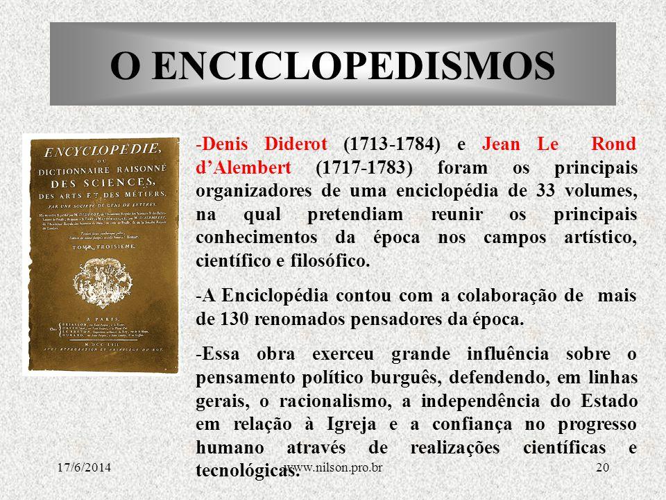 O ENCICLOPEDISMOS