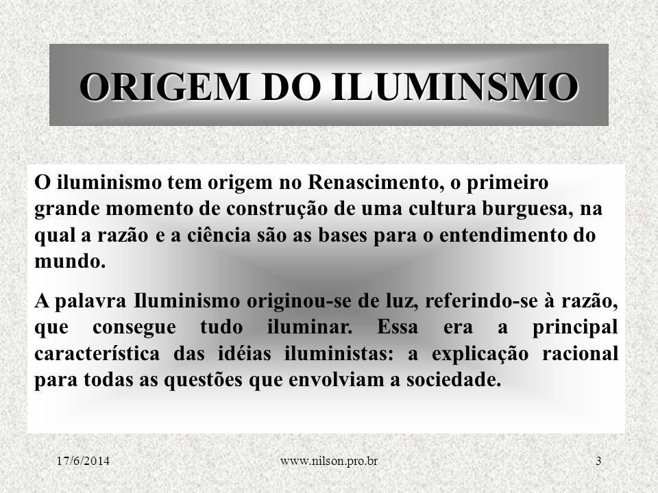 ORIGEM DO ILUMINSMO