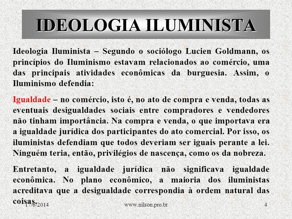 IDEOLOGIA ILUMINISTA