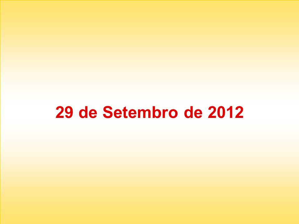 29 de Setembro de 2012
