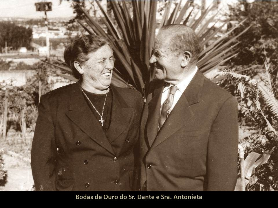 Bodas de Ouro do Sr. Dante e Sra. Antonieta