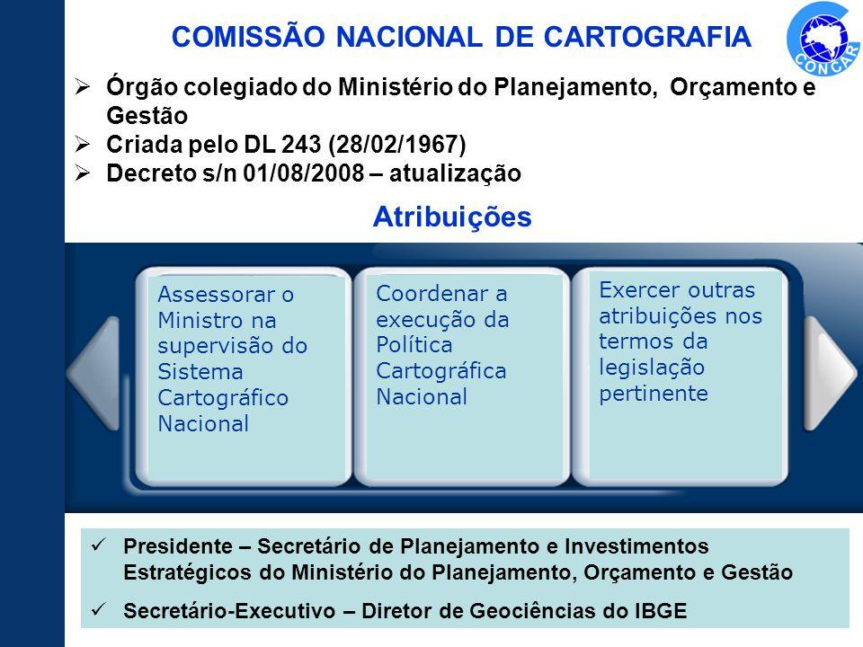 COMISSÃO NACIONAL DE CARTOGRAFIA