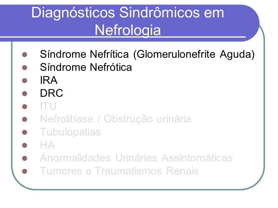 Diagnósticos Sindrômicos em Nefrologia