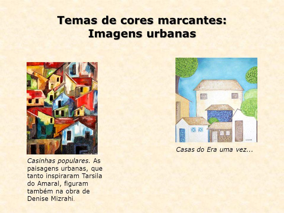 Temas de cores marcantes: Imagens urbanas
