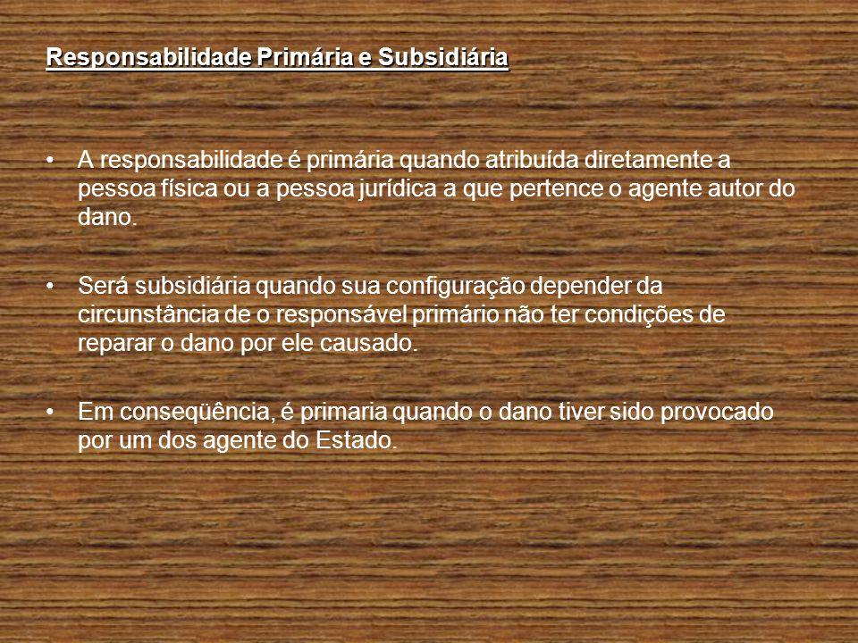 Responsabilidade Primária e Subsidiária