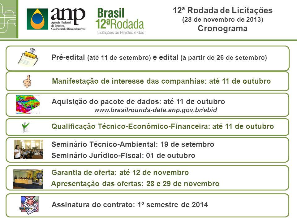 Pré-edital (até 11 de setembro) e edital (a partir de 26 de setembro)