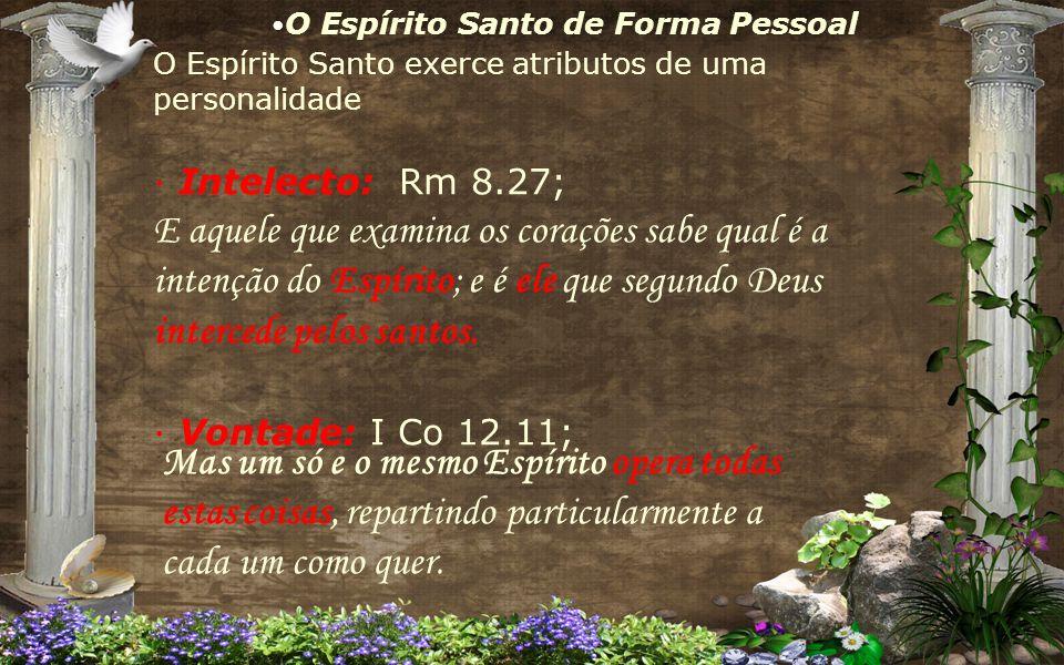 O Espírito Santo de Forma Pessoal