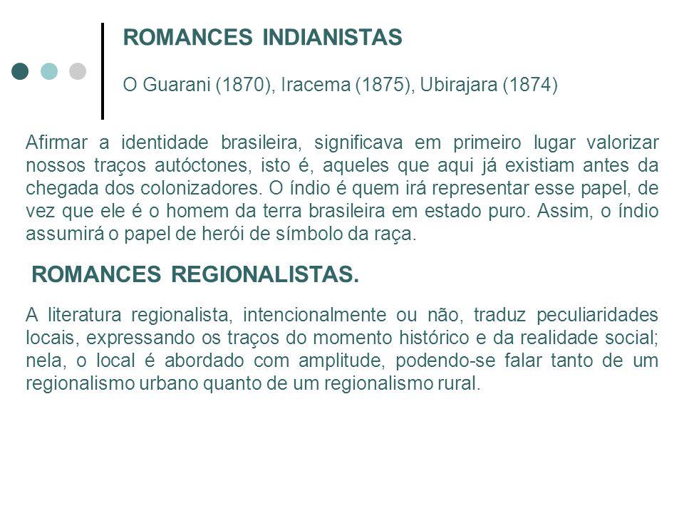 ROMANCES REGIONALISTAS.