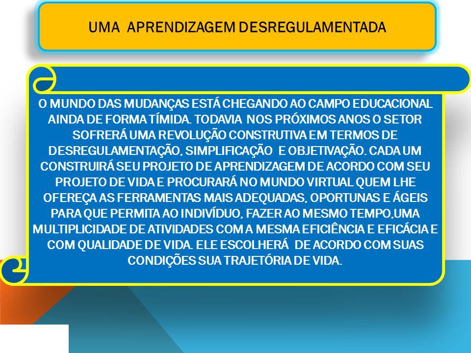 UMA APRENDIZAGEM DESREGULAMENTADA
