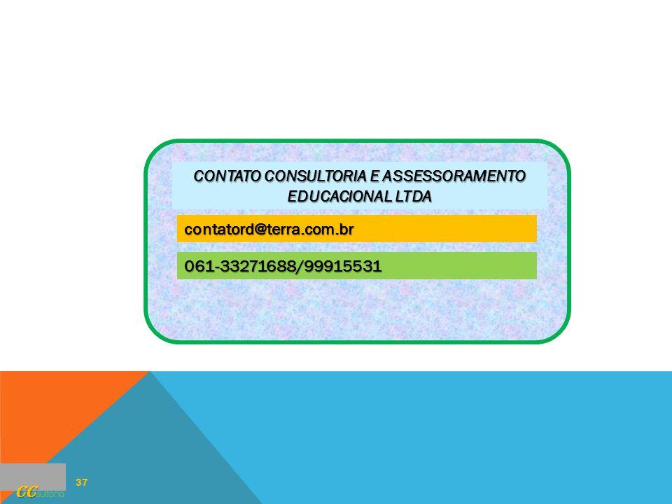 CONTATO CONSULTORIA E ASSESSORAMENTO EDUCACIONAL LTDA
