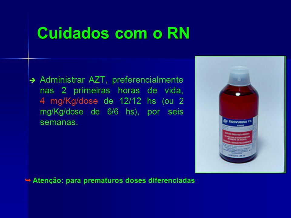Cuidados com o RN