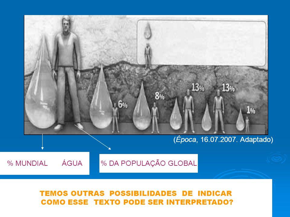 TEMOS OUTRAS POSSIBILIDADES DE INDICAR