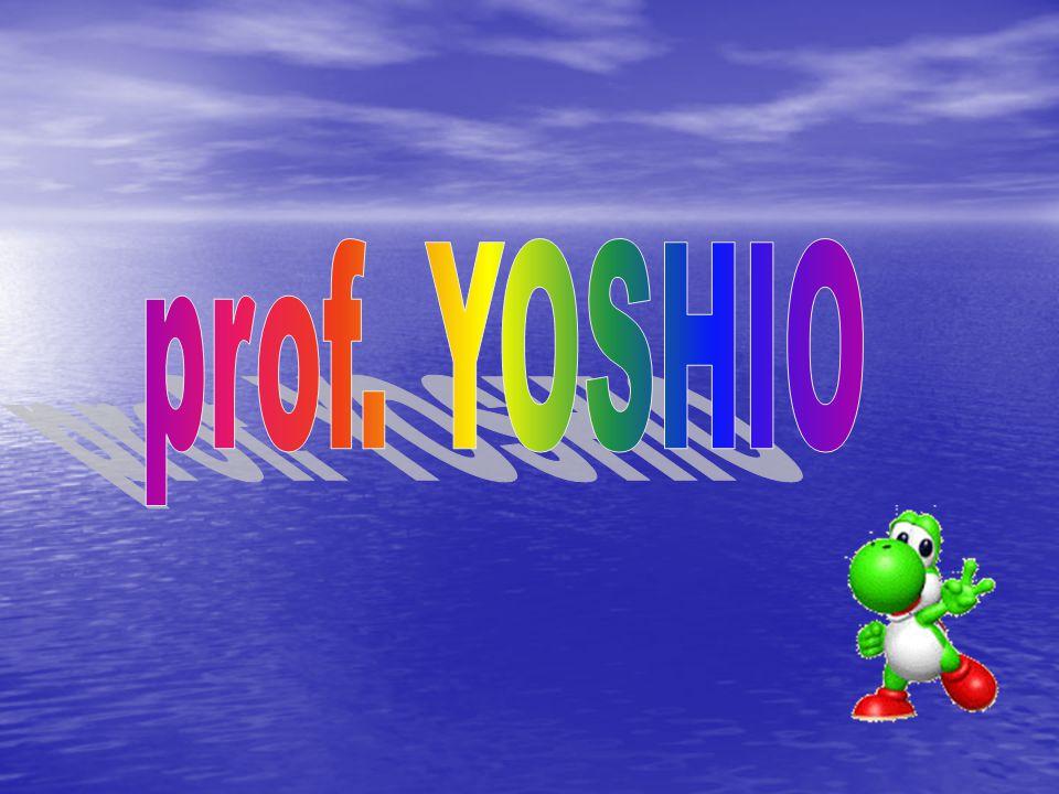 prof. YOSHIO
