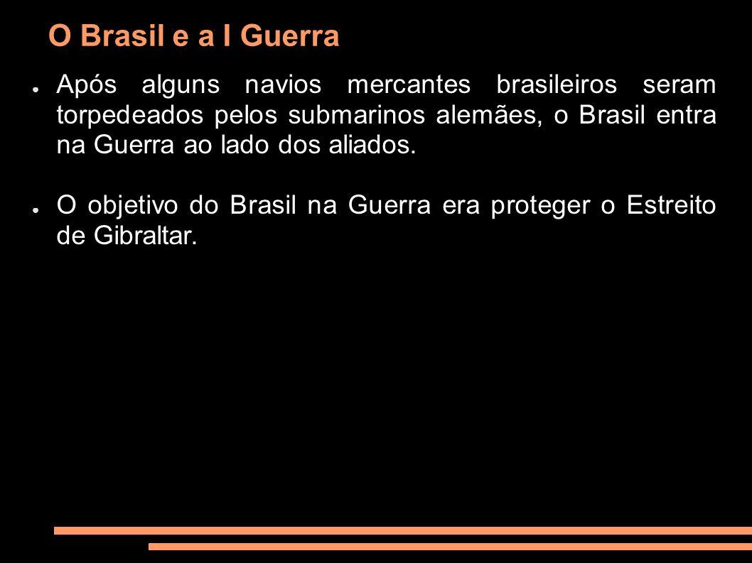 O Brasil e a I Guerra