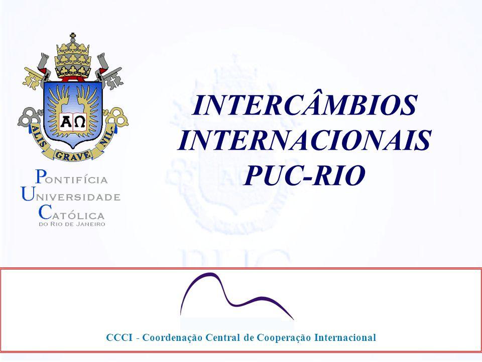 INTERCÂMBIOS INTERNACIONAIS PUC-RIO