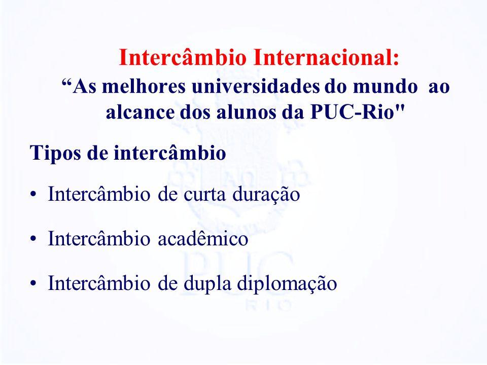 Intercâmbio Internacional: As melhores universidades do mundo ao alcance dos alunos da PUC-Rio