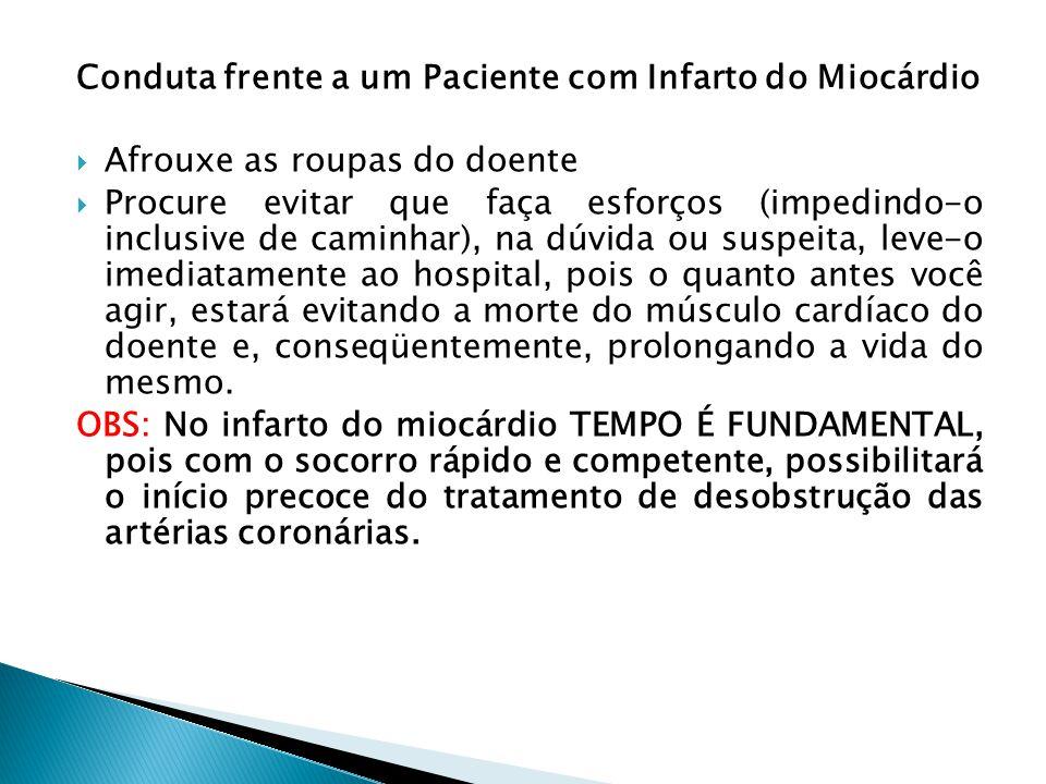 Conduta frente a um Paciente com Infarto do Miocárdio