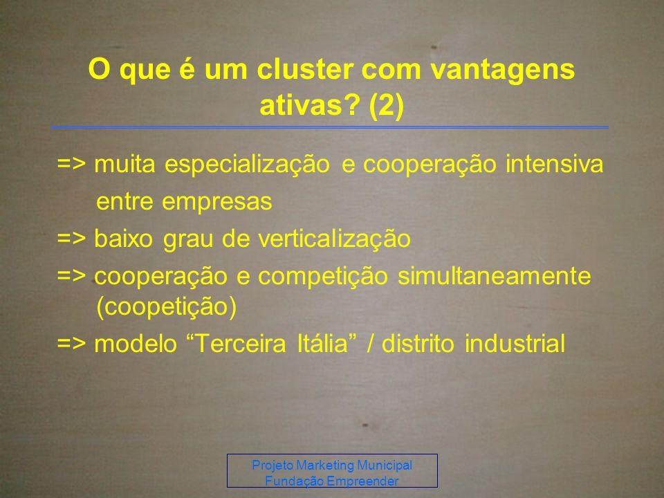 O que é um cluster com vantagens ativas (2)