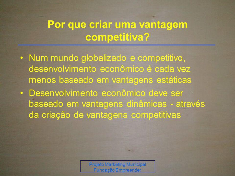 Por que criar uma vantagem competitiva
