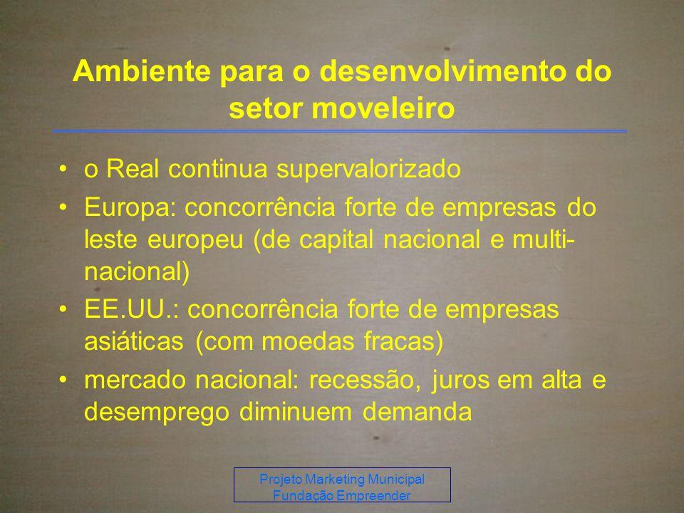 Ambiente para o desenvolvimento do setor moveleiro