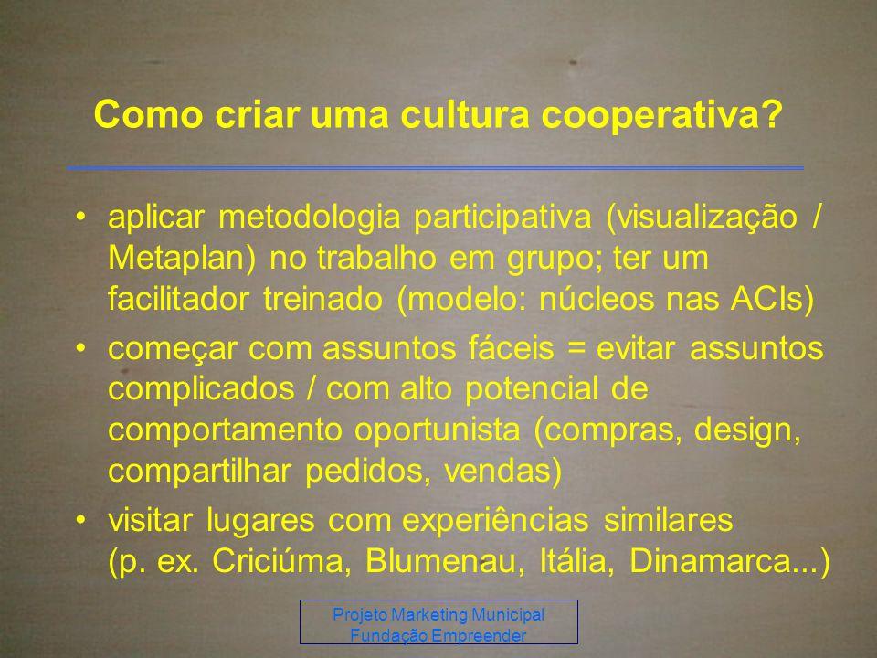 Como criar uma cultura cooperativa