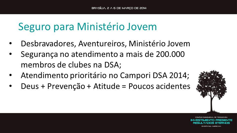 Seguro para Ministério Jovem