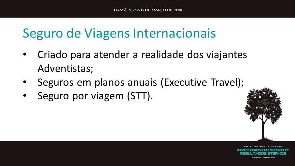 Seguro de Viagens Internacionais
