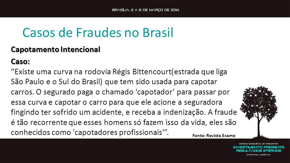 Casos de Fraudes no Brasil