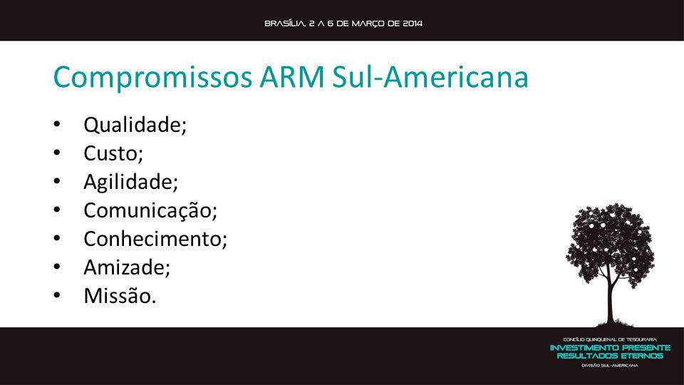 Compromissos ARM Sul-Americana