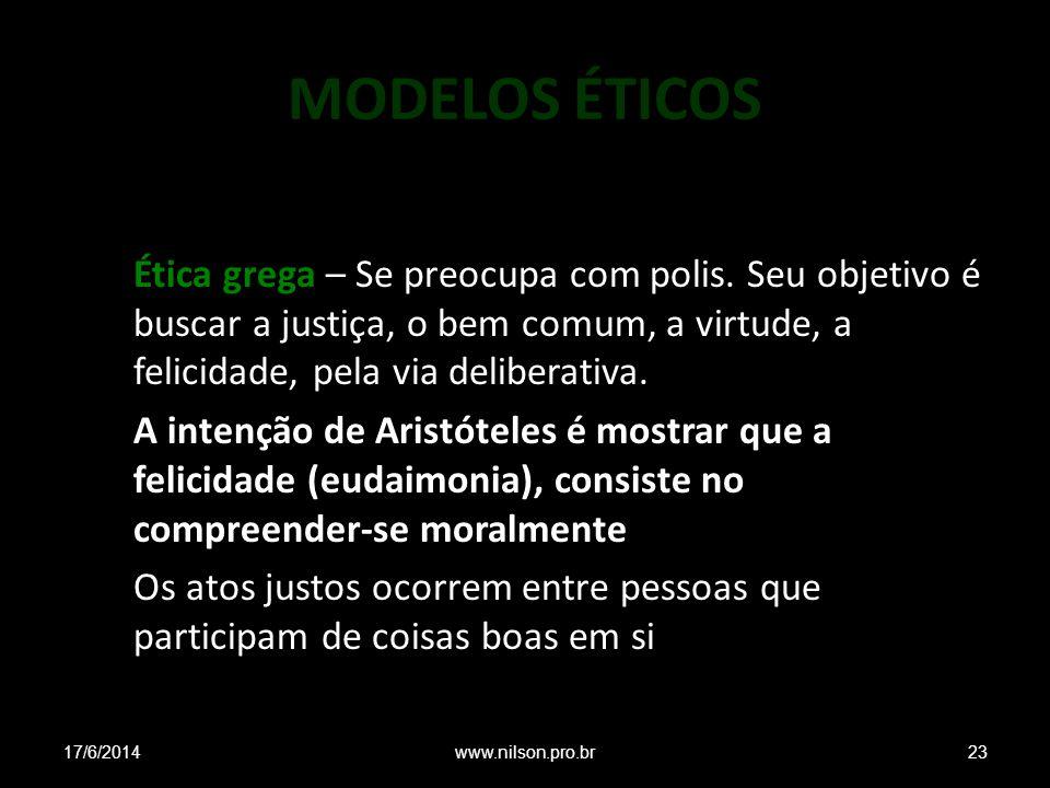MODELOS ÉTICOS
