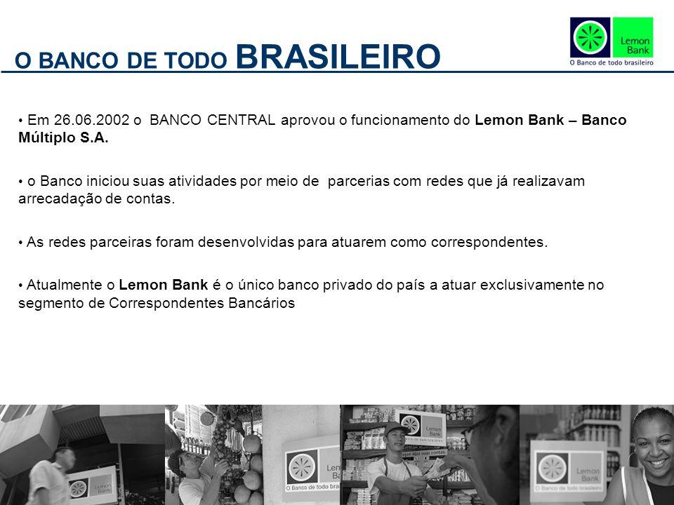 O BANCO DE TODO BRASILEIRO