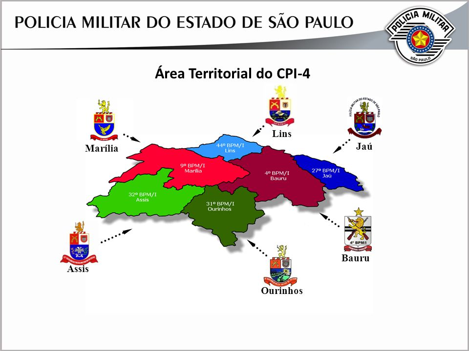 Área Territorial do CPI-4