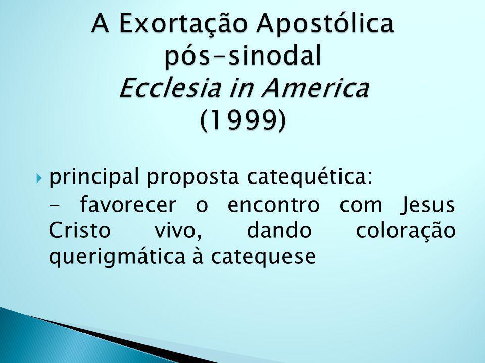 A Exortação Apostólica pós-sinodal Ecclesia in America (1999)