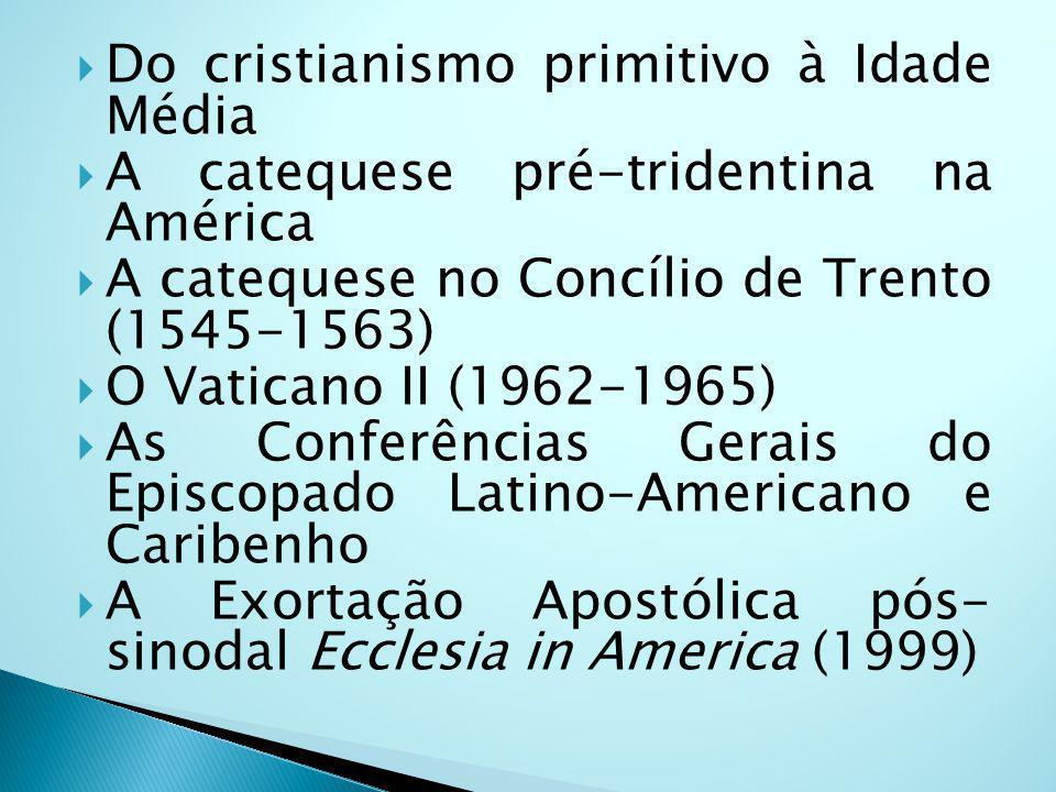 Do cristianismo primitivo à Idade Média