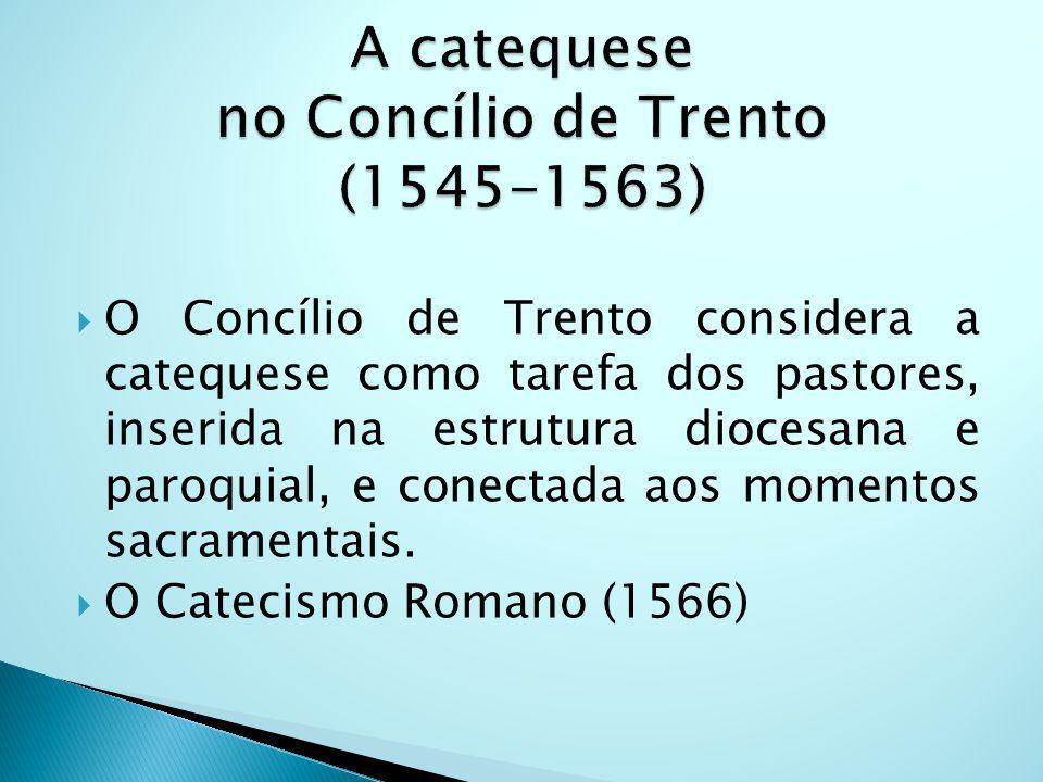 A catequese no Concílio de Trento (1545-1563)