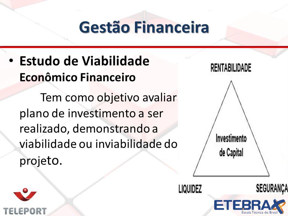 Gestão Financeira Estudo de Viabilidade Econômico Financeiro