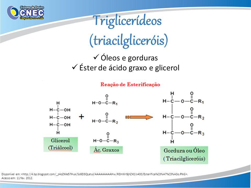 Éster de ácido graxo e glicerol