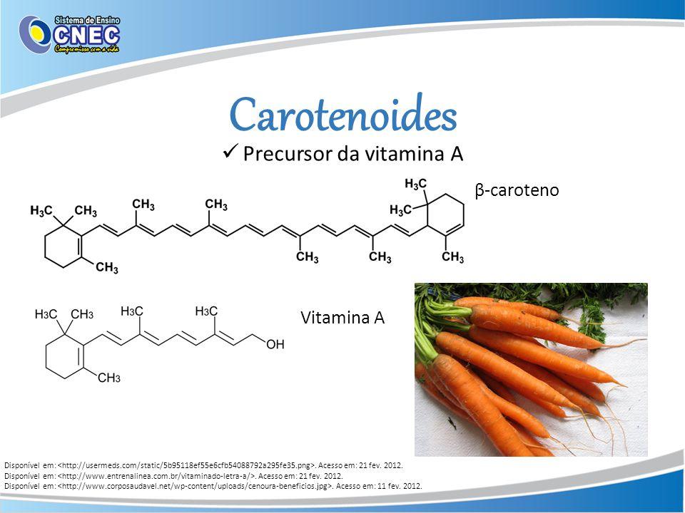 Precursor da vitamina A