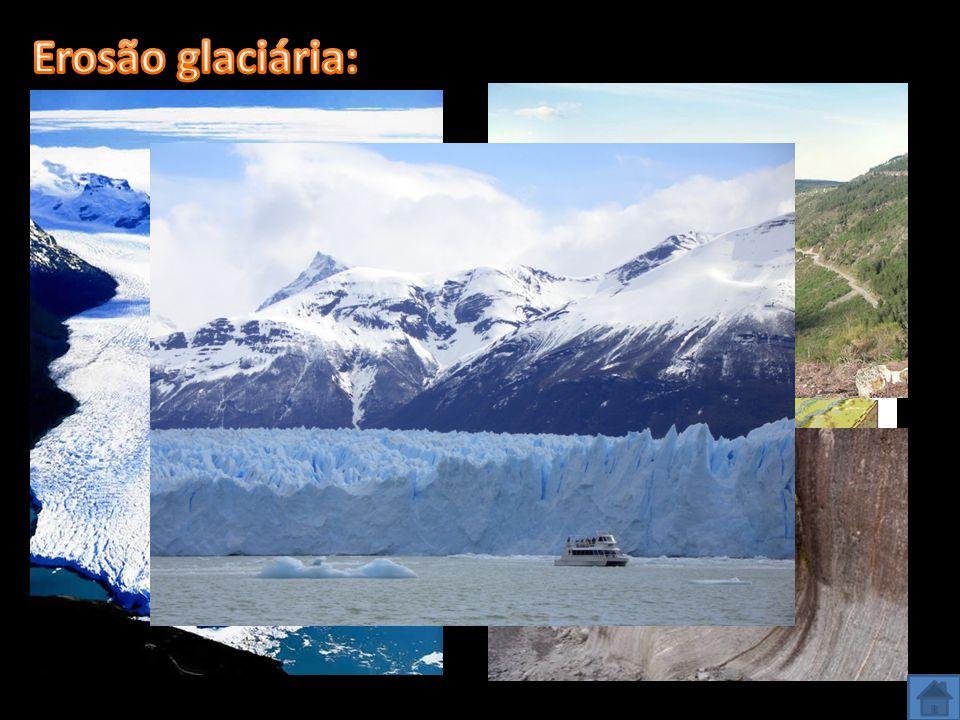 Erosão glaciária: