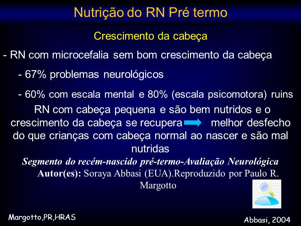 Segmento do recém-nascido pré-termo-Avaliação Neurológica