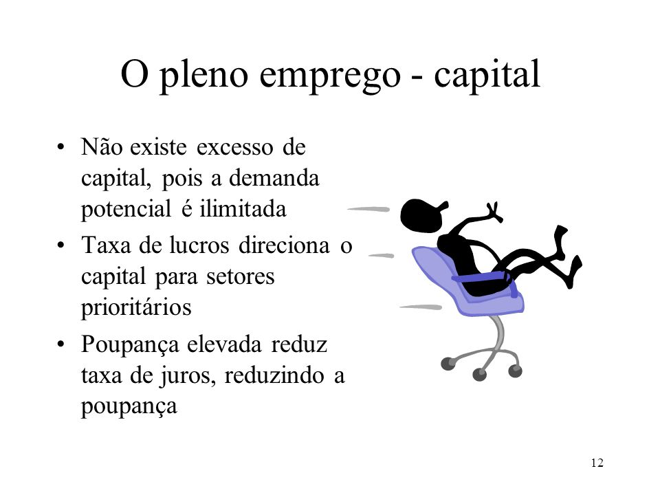 O pleno emprego - capital