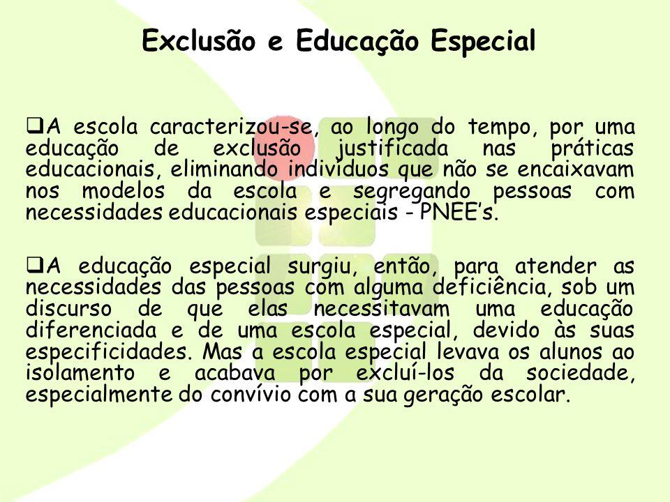 Exclusão e Educação Especial