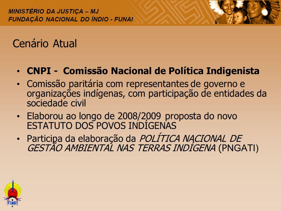 Cenário Atual CNPI - Comissão Nacional de Política Indigenista