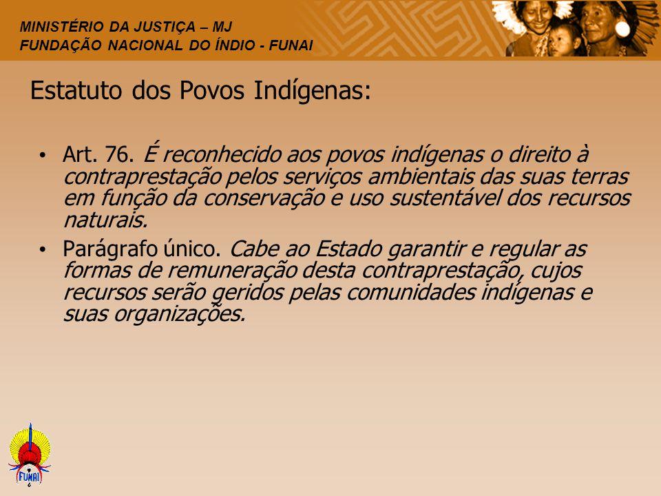 Estatuto dos Povos Indígenas: